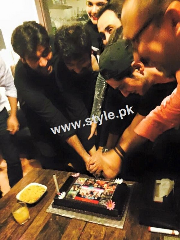 Birthday Celebration of two stars Humayun Saeed and Yasir Nawaz  11