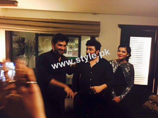 Birthday Celebration of two stars Humayun Saeed and Yasir Nawaz (2)