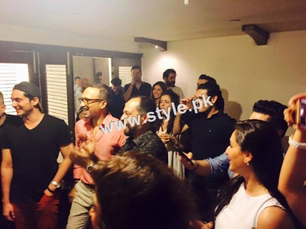 Birthday Celebration of two stars Humayun Saeed and Yasir Nawaz (3)