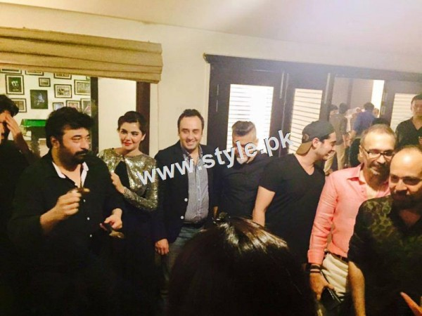 Birthday Celebration of two stars Humayun Saeed and Yasir Nawaz (5)