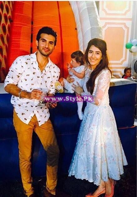 Birthday celebrations of Syra and Shehroz's baby 1