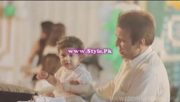 Birthday celebrations of Syra and Shehroz's baby 4