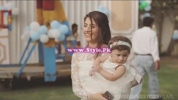 Birthday celebrations of Syra and Shehroz's baby  5