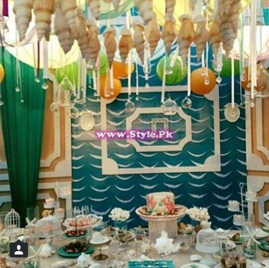 Birthday celebrations of Syra and Shehroz's baby  7
