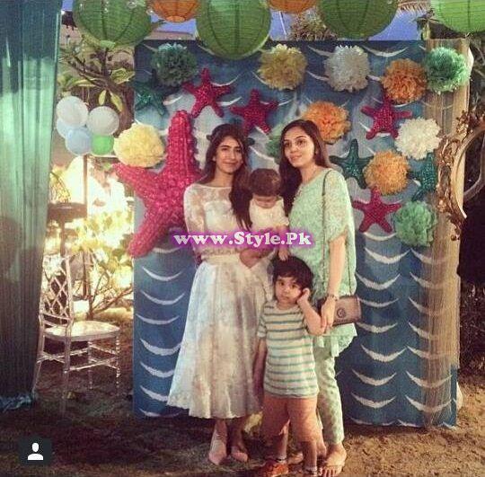 Birthday celebrations of Syra and Shehroz's baby  8