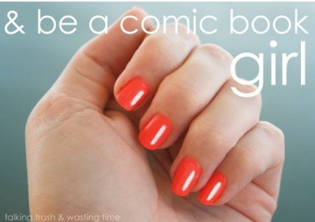 See Steps to do Comic style nail art