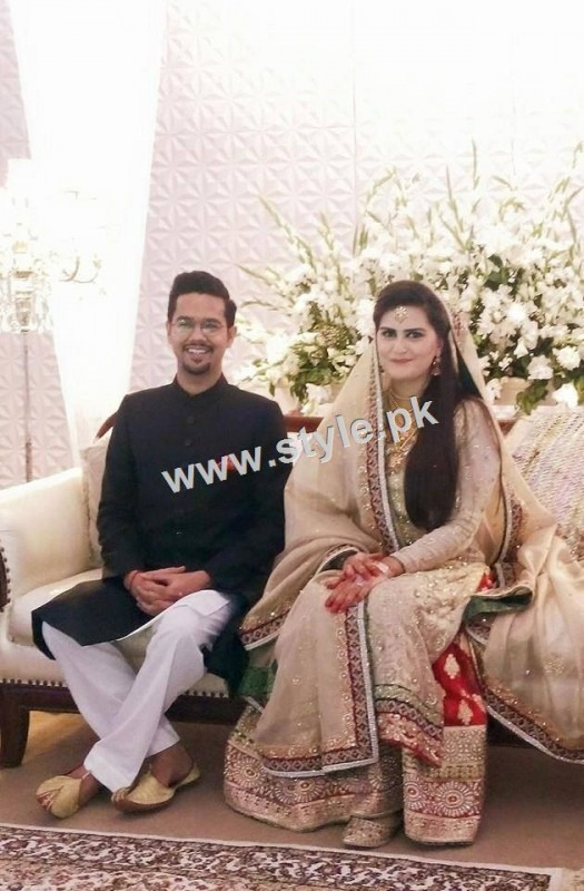Complete Wedding pictures of Ali Gul Pir and his bride (6)