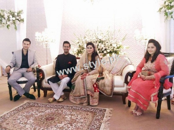 Complete Wedding pictures of Ali Gul Pir and his bride