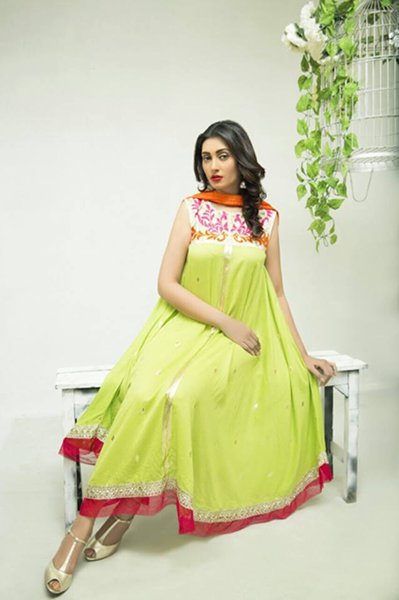 Cotton Ginny Eid Collection 2015 Volume 2 For Women006