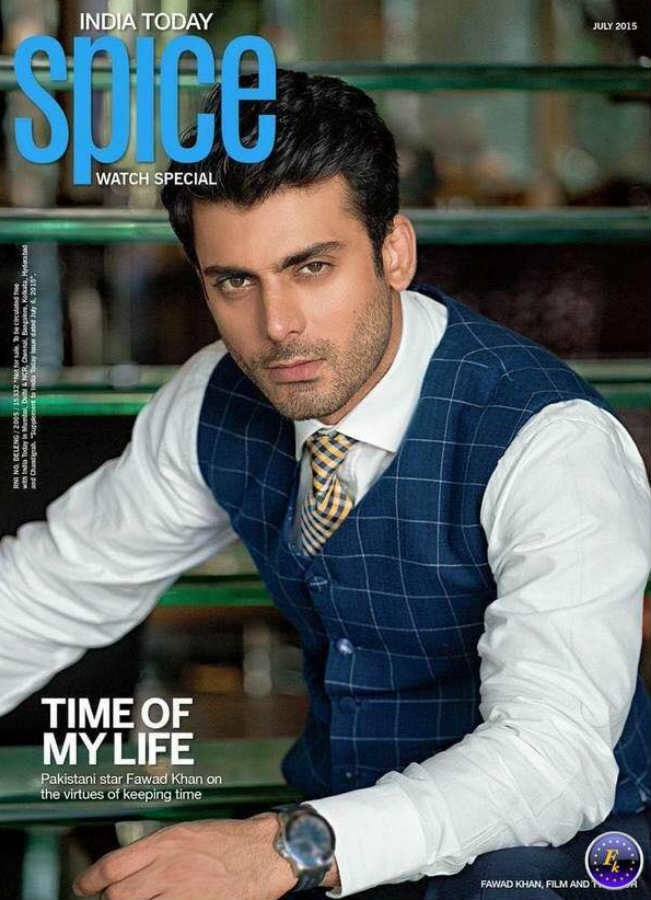 See Fawad Khan on cover of India today spice magazine