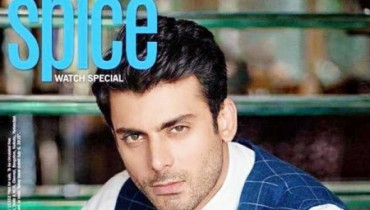 See Fawad Khan on the cover of India Today spice magazine