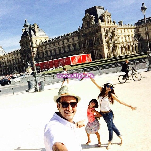 See Looks of Ayesha Omar on trip to Euro in summers 2015