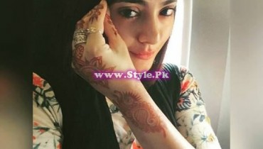 See Which Pakistani Celebrity applied best mehndi design on Eid-ul-Fitar 2015?