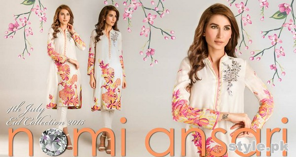 Nomi Ansari Eid-Ul-Fitr Dresses 2015 for Men and Women 13