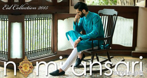Nomi Ansari Eid-Ul-Fitr Dresses 2015 for Men and Women 9