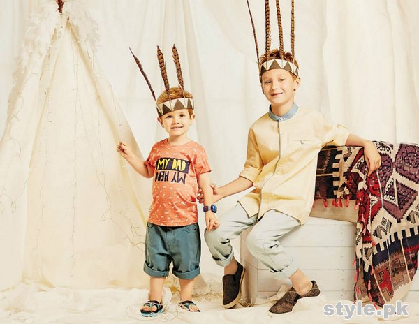 Outfitters Junior Festive Eid Collection 2015 For kids 9