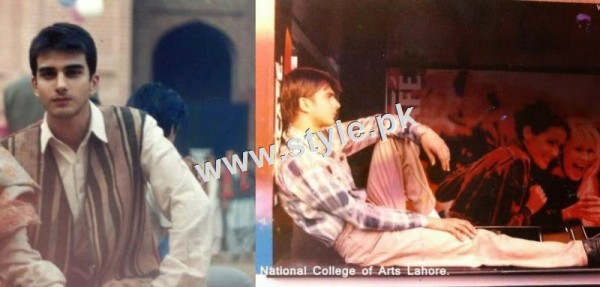 Pictures of Pakistani Celebrities during study days 3