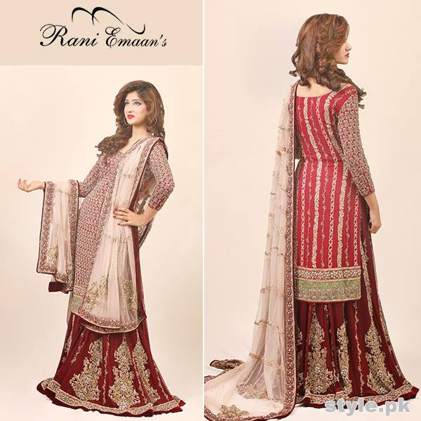 Rani Emaan Bridal Wear Dresses 2015 For Women