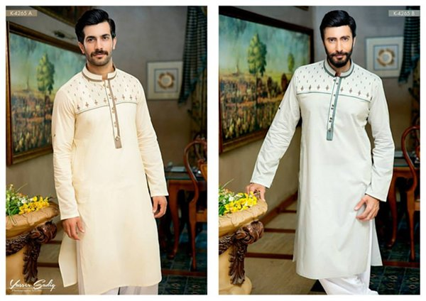 Rivaj Fabrics Eid Collection 2015 For Men0010
