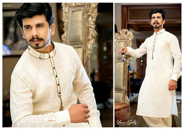Rivaj Fabrics Eid Collection 2015 For Men003