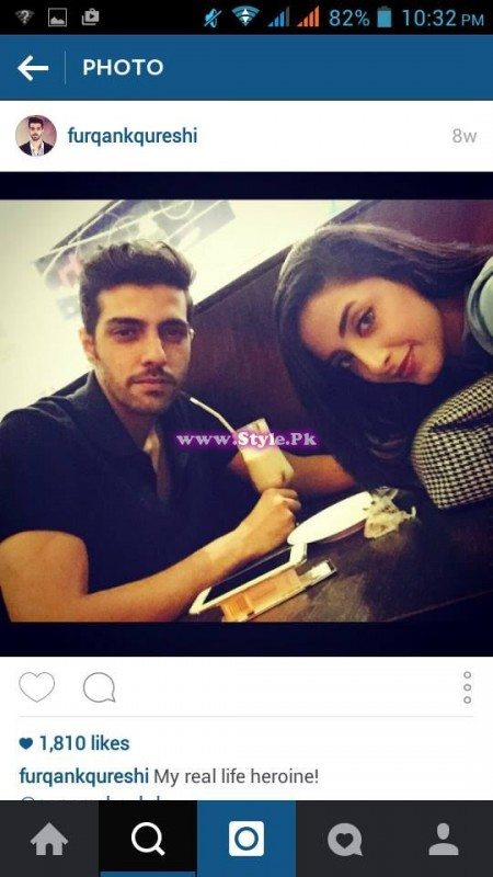 Sanam Chaudhry and Furqan Qureshi are mad in each other's love 12