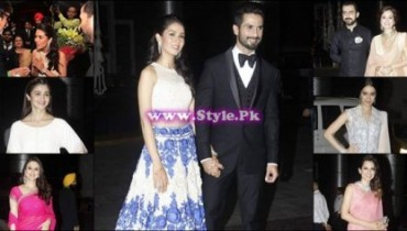 See Shahid Kappor's and Mira Rajput's Reception pictures