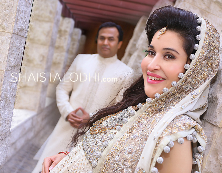 See Shaista Lodhi's complete wedding photoshoot