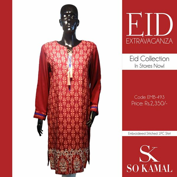 So Kamal Eid Collection 2015 Volume 2 For Women005