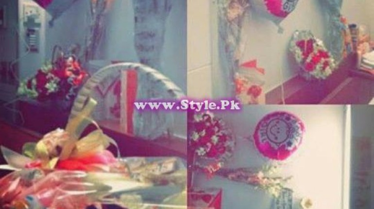 See Danish Taimoor gave a surprise gift to Ayeza Khan.
