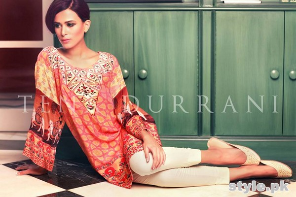 Tena Durrani Summer Arrivals 2015 For Women 1