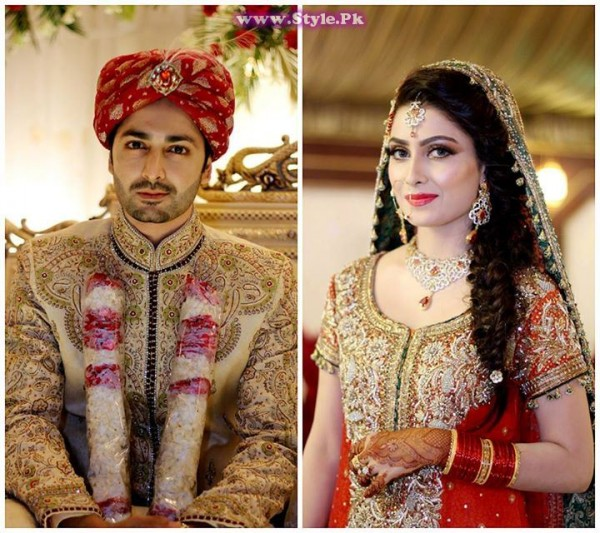 Top 8 Pakistani Celebrities who wore red color on their wedding day