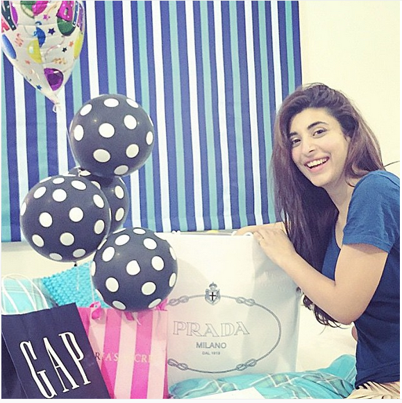 See Urwa hocane's birthday celebration