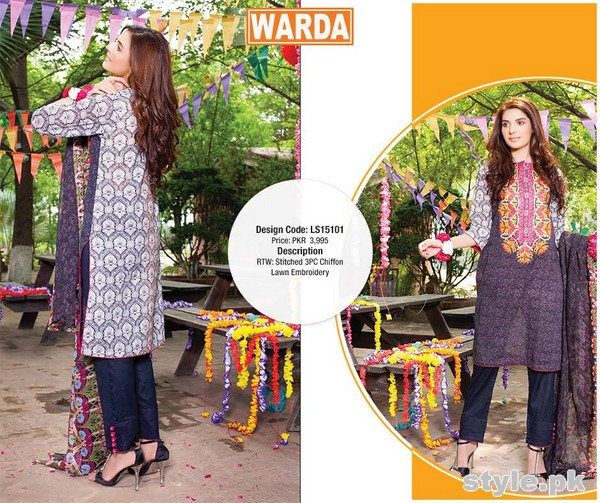 Warda Eid Dresses 2015 For Women 3
