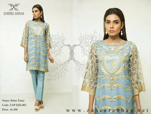 Zaheer Abbas Eid Collection 2015 For Women0912