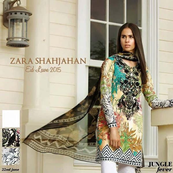 Zara Shahjahan Eid Collection 2015 For Women