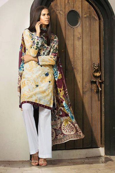 Zara Shahjahan Eid Collection 2015 For Women001