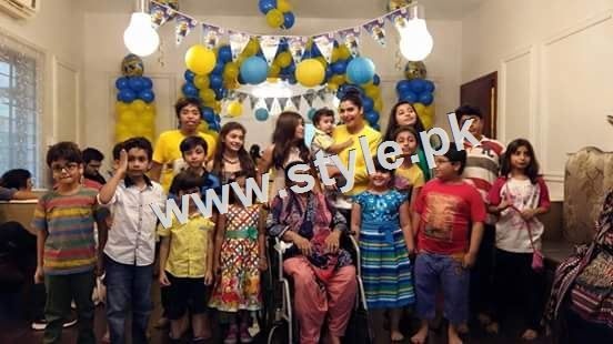 See 1st Birthday Celebration of Nida and Yasir's son Balaj