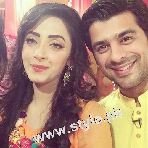 After dating Humayun Ashraf Sanam Chaudhry is dating Furqan Qureshi 7