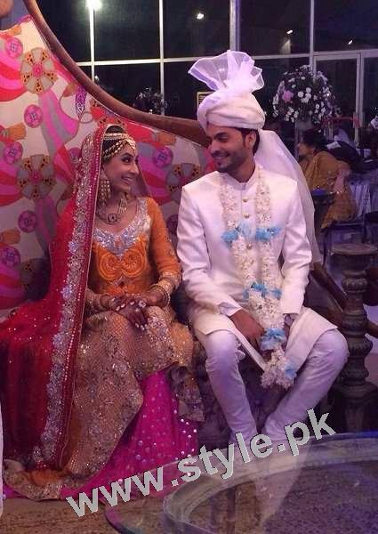 Asad Siddiqui's Wedding pictures (10)