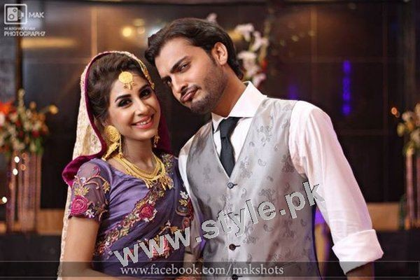 Asad Siddiqui's Wedding pictures (11)