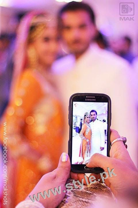 Asad Siddiqui's Wedding pictures (2)