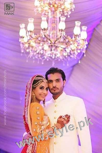 Asad Siddiqui's Wedding pictures (8)