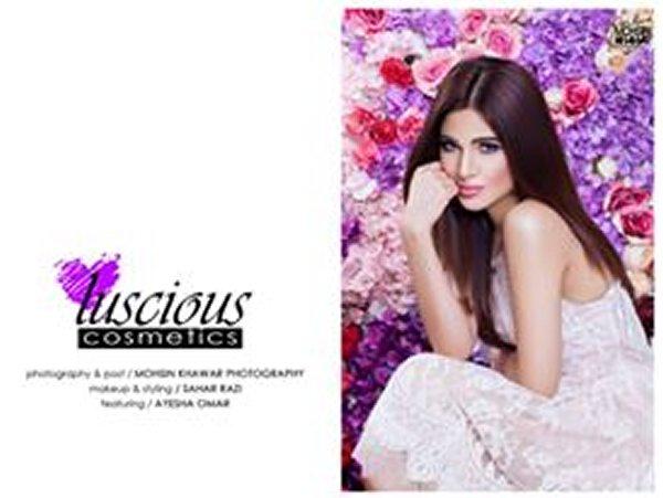 Ayesha Omar Photoshoot For Luscious Cosmetics001