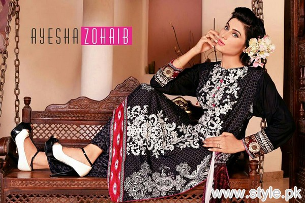 Ayesha Zohaib Linen Collection 2015 For Midsummer 5