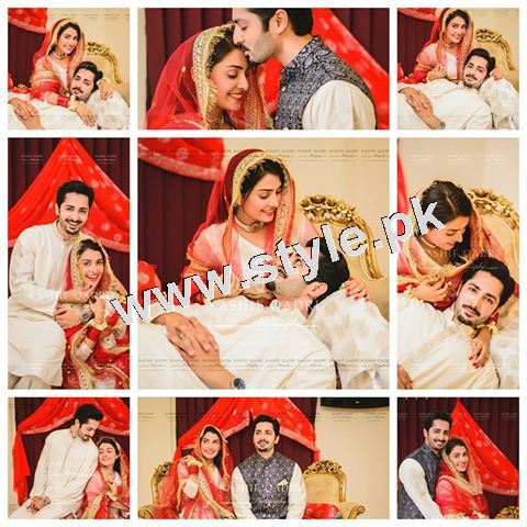 Ayeza Khan shares a status on her Nikkah Anniversary 2