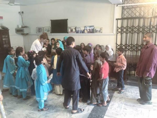 Ayyan Ali visited Edhi foundation Islamabad 11