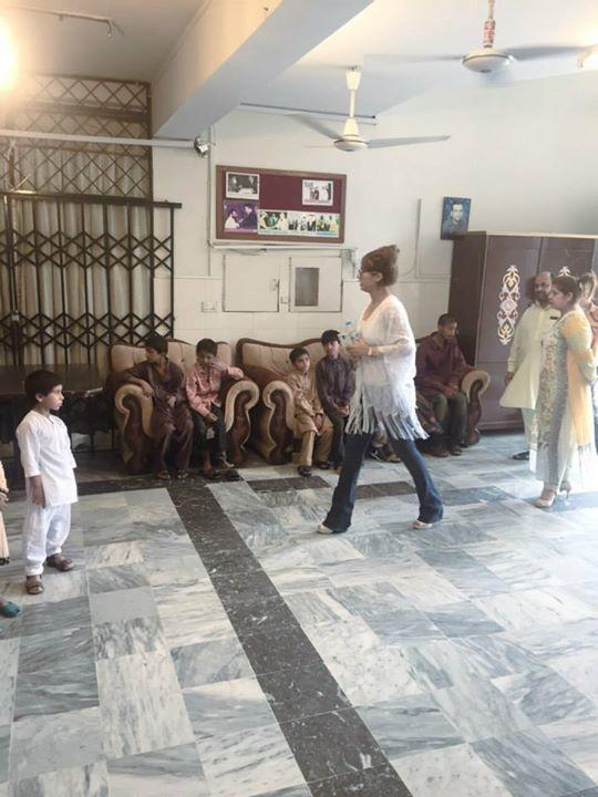 Ayyan Ali visited Edhi foundation Islamabad 12