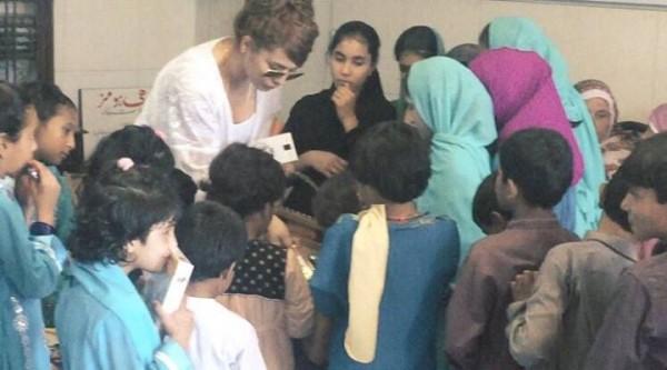 Ayyan Ali visited Edhi foundation Islamabad 13