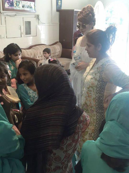 Ayyan Ali visited Edhi foundation Islamabad 17