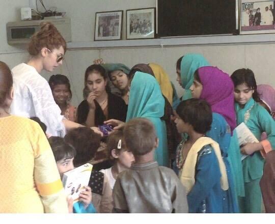 Ayyan Ali visited Edhi foundation Islamabad 2